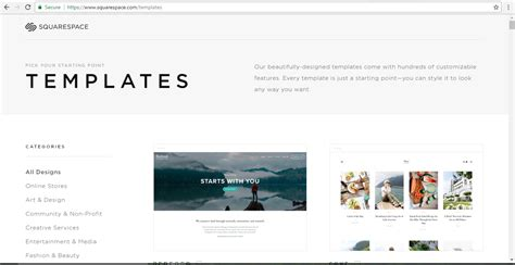 squarespace single page templates stand out now with your website thanks to squarespace
