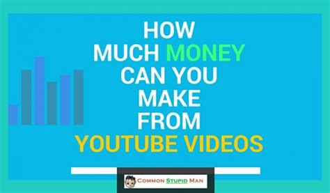 How Much Money Can I Make Online - how much money can you make from youtube videos mmo with shahnawaz