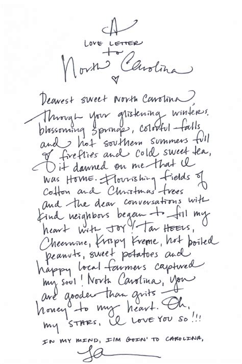 north carolina written out a southern love letter from lara southern weddings