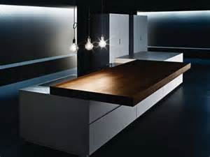 Contemporary sliding kitchen counter by minimal