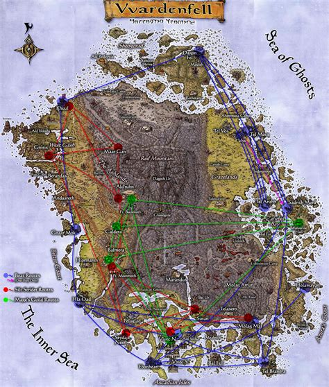 morrowind map maps of morrowind fessic s favorites and other stuff