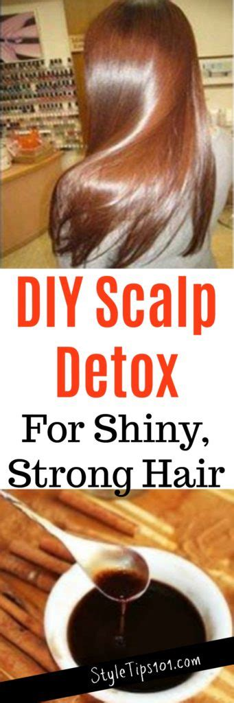 Diy Scalp Detox by Diy Scalp Detox For Strong Healthy Hair