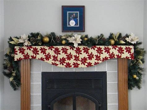 fireplace mantle scarf 1000 images about mantle scarf on