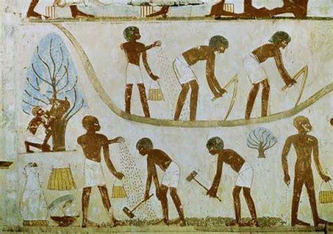 Home Interior Framed Art by 15 Jahrhundert V Chr Peasants Farming Egypt Wall