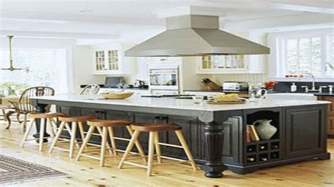 large kitchen island ideas amazing kitchen islands images the open floor plan