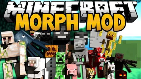 morph mod 1 7 10 1 7 2 1 6 4 1 6 2 minecraft mods morphing mod 1 12 2 1 7 10 morph into any mob ever