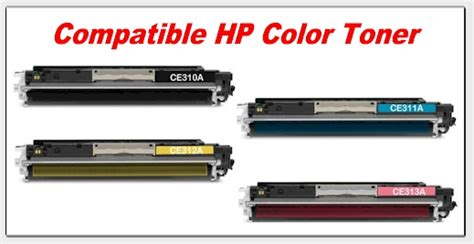 Tinta Printer Hp Laserjet Cp1025 126a Hp Cp1025nw Toner Ce310a Ce311a Ce312a Ce313a