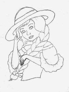 artesanato com quelli risco de boneca para pintar em 1000 images about bonecas com vestido de croche on