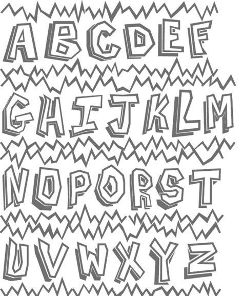 imagenes de letras lindas para dibujar abecedario de letras bonitas para colorear imagui