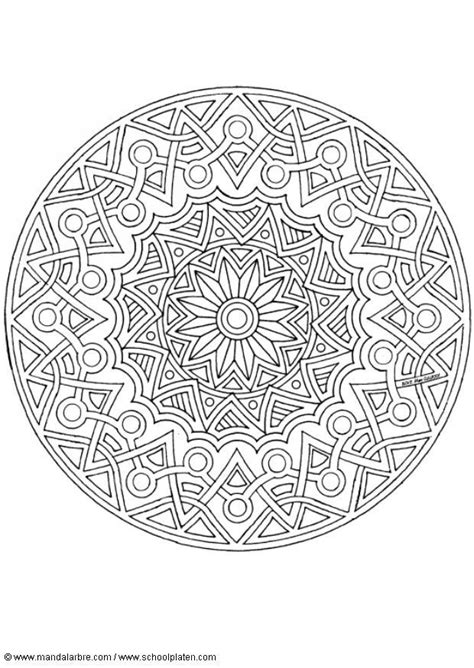 intricate mandala coloring pages free intricate coloring pages coloring page mandala 1702j