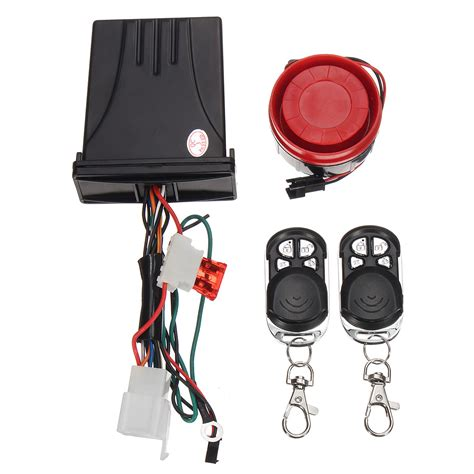 Alarm Motor Immobilizer universal motorcycle motor bike quality anti theft security alarms immobiliser alex nld