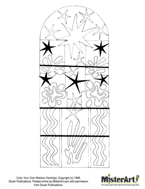 henri matisse coloring coloring pages