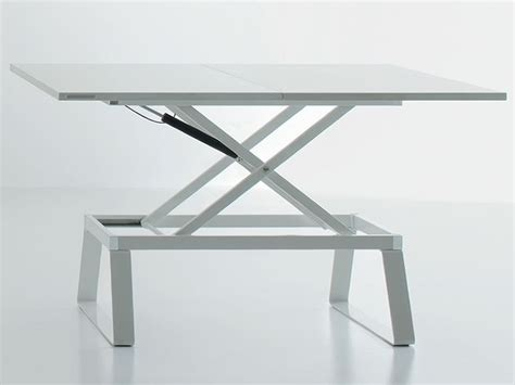 Transformable Coffee Table Orione Transformable Coffee Table Adjustable In Height Different Colours Sediarreda Sale