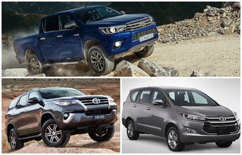 Hanger Sunvisor Innova Fortuner Hilux toyota hilux innova fortuner to be launched in malaysia in q2 and q3 2016 auto news carlist my
