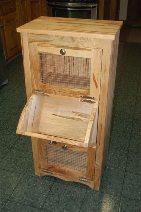 potato bin woodworking plans potato bread bin by mvgraz lumberjocks