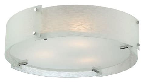 Glass Globes For Ls by Lite Source Ls 5420c Fro Flush Mount With Frosted Glass