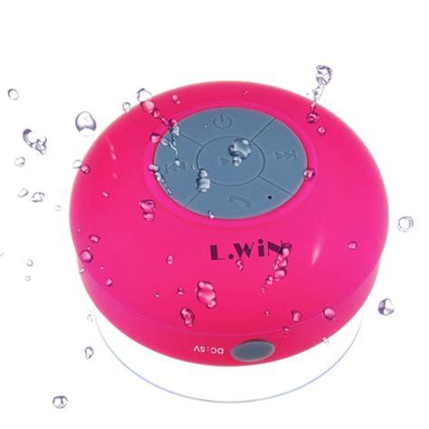 Shower With Bluetooth Speaker by Waterproof Wireless Free Shower Speaker For Bathroom
