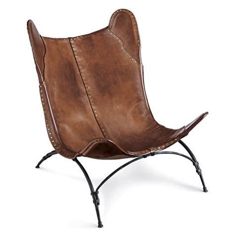 ralph leather chair fancy new safari c chair chairs ottomans