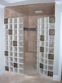 shower glass block colored glass blocks for a doorless walk in shower