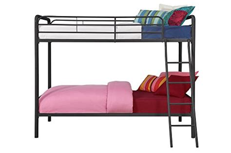 how to close a metal futon dhp twin over twin metal bunk bed black in the uae see