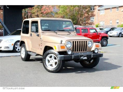 2000 desert sand pearl jeep wrangler 4x4 98053280 gtcarlot car color galleries