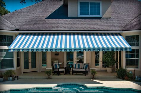All About Awnings by Retractable Deck Awnings Retractable Deck Canopies