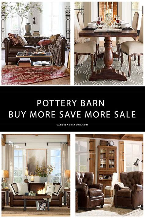 20 pottery barn furniture essentials at up to 30