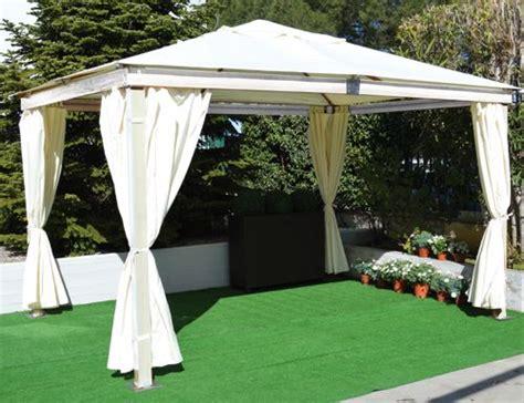 tende per gazebo in legno telo di ricambio per tende laterali per gazebo in legno