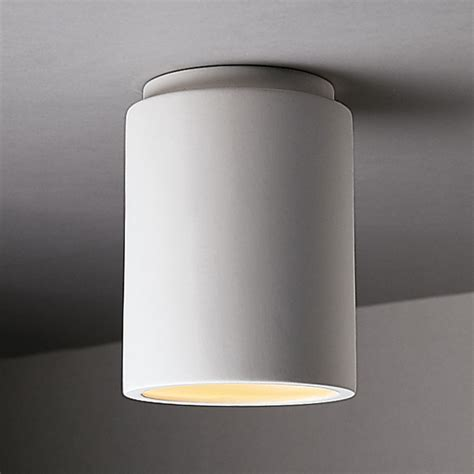Can Light Fixture Justice Design Cer 6100 Bis Radiance Cylinder Flush Mount Ceiling Fixture