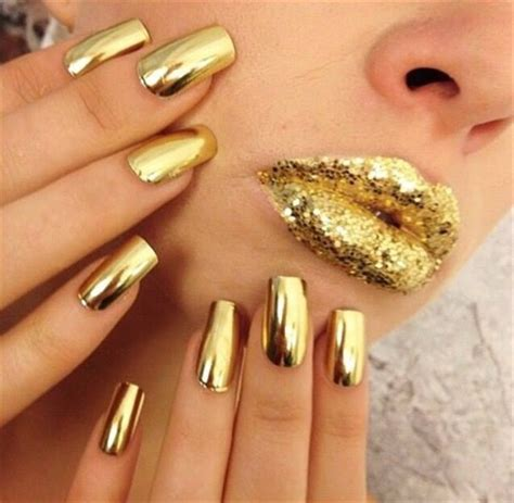 minx nails minx gold lightning nail gallery