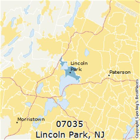 best places to live in lincoln park zip 07035 new jersey