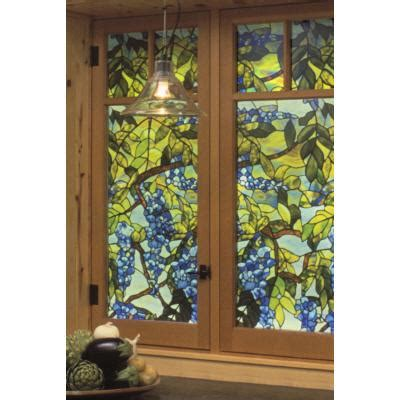 decorative window film home depot artscape wisteria decorative window film 24 in x 36 in