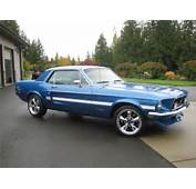 1968 FORD MUSTANG COUPE  Barrett Jackson Auction Company Worlds