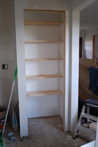 how to build pantry shelves organization 101 building basic wood shelves diydiva