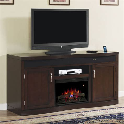entertainment centers with electric fireplace endzone electric fireplace entertainment center in