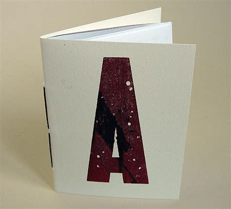 Handmade Booklet - handmade books make a paper address booklet from