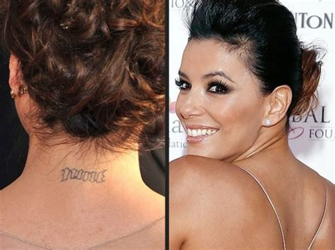 eva longoria tattoo removal 5 who ve had tattoos removed