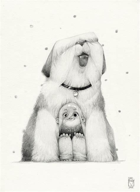 funny  creative pencil drawings  russian artist