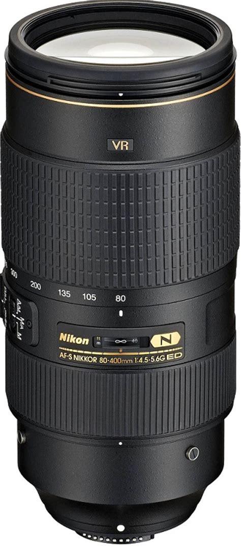 Nikon Lens Af S 80 400mm F45 56g Ed Vr Zoom Diskon nikon af s nikkor 80 400mm f 4 5 5 6g ed vr lens 2208 163