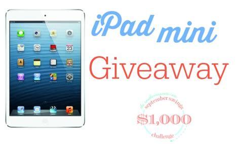 Ipad Giveaway 2014 - september savings challenge money saving apps ipad mini giveaway southern savers