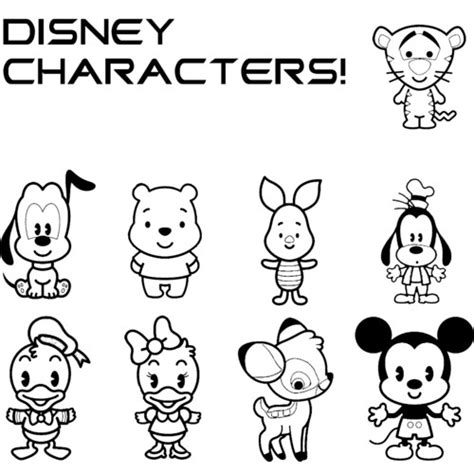 Disney Cartoon Characters Coloring Pages Memes Disney Princess Cuties Coloring Pages Printable
