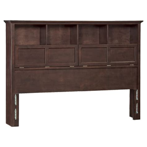 california king bookcase headboard whittier wood furniture finished 1382caf caf mckenzie