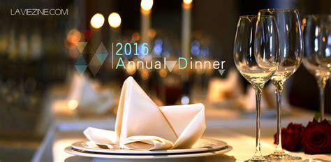 annual dinner restaurants la vie zine