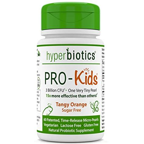 pro children s probiotics 60 tiny sugar free once daily time release pearls 15x