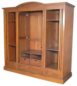 Entertainment Armoire With Doors by Mahogany 4 Pocket Doors Media Entertainment Armoire