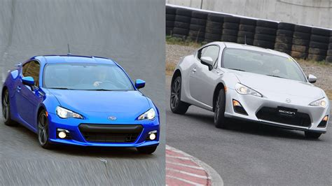 subaru brz vs scion frs vs toyota scion fr s vs subaru brz the same but different