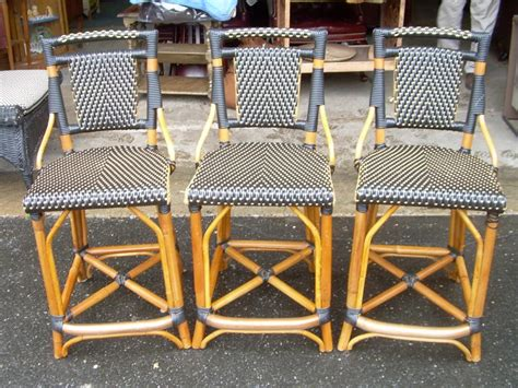 Wicker Stools For Sale by Rattan Bar Stools For Sale Antiques Classifieds