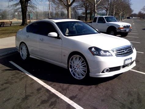 K 46 Wheels Sling White 2008 m custom 22 quot rims with tires for m35 m45 g35driver infiniti g35 g37 forum discussion