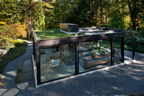 Glass House in the Garden   Modern   Shed   Boston   by