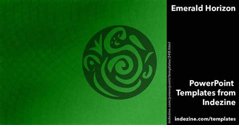 horizon powerpoint themes emerald horizon powerpoint templates